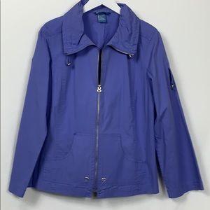 Koret blue/purple long sleeved lite jacket  Med